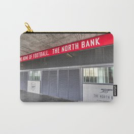 Arsenal FC Emirates Stadium London North Bank Carry-All Pouch
