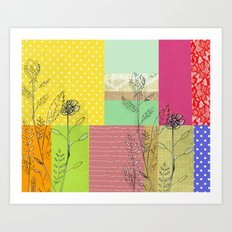 hello new day Art Print