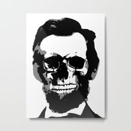 Decayed Lincoln Metal Print