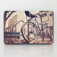 bicycle iPad Cases featuring Bicycle by iD70my