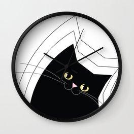Black Cat of Lara Wall Clock