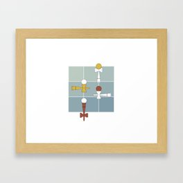 Kendama / passion obsession 1.2 Framed Art Print