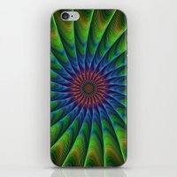 fractal iPhone & iPod Skins featuring Fractal by David Zydd
