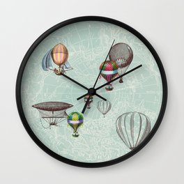 Balloon Festival Wall Clock