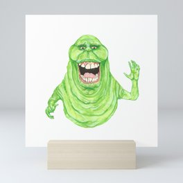 Slimer Mini Art Print