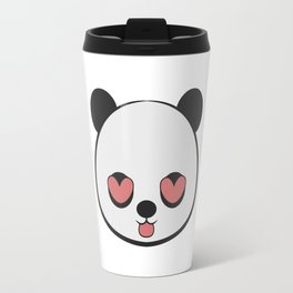 Panda Love Valentine Travel Mug