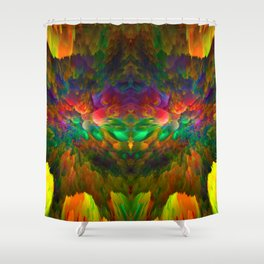 FEATHERS X Shower Curtain