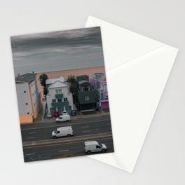Pacific Coast Hwy veiw from santa monica Stationery Cards