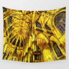 The Cathedral Vincent Van Goth Wall Tapestry