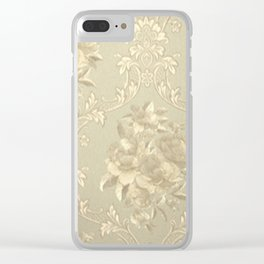 VINTAGE Clear iPhone Case