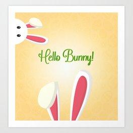 Dear Bunny Art Print