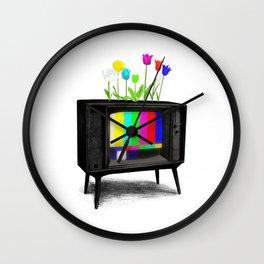 Test Garden Wall Clock