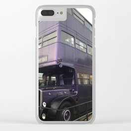Welcome to the Knight Bus Clear iPhone Case