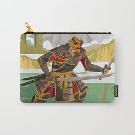 samurai warrior in the mountain Carry-All Pouch