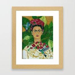 Frida In Heaven Framed Art Print