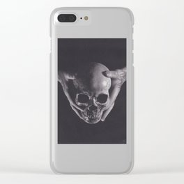 Death in His Hands Clear iPhone Case