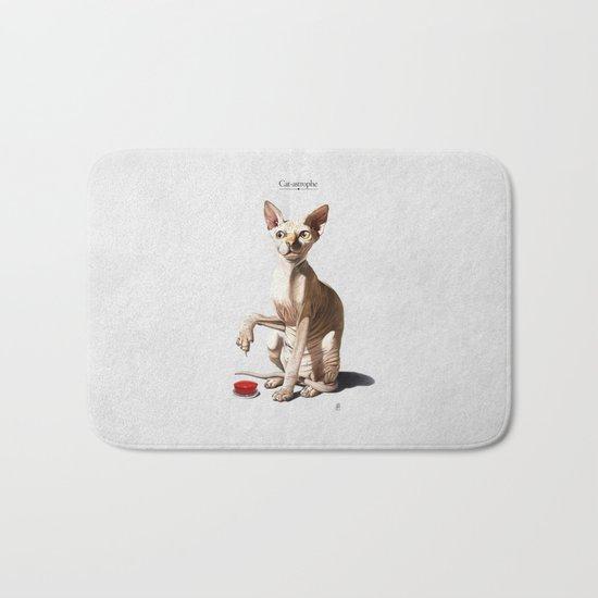 Cat-astrophe Bath Mat