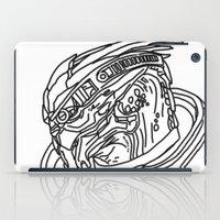 garrus iPad Cases featuring Garrus by Cat Milchard