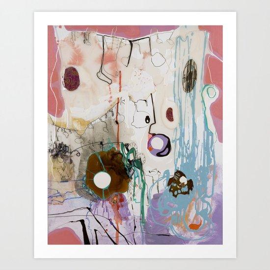 Pisces Moon, Phase 1 Art Print