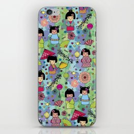 Japanese girls iPhone Skin