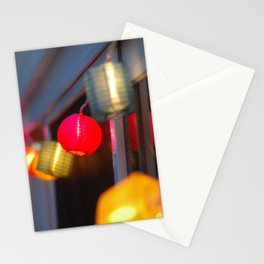 Paper Lanterns Stationery Cards