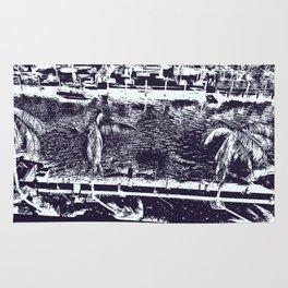 Sketched Tropics Rug