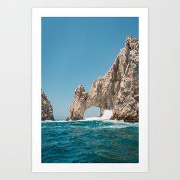 Arch of Cabo San Lucas Art Print