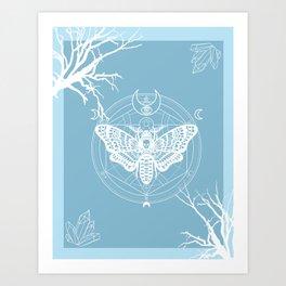 Witch Craft Winter Art Print