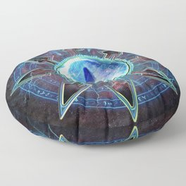 Chaos Icon - Tzeentch Floor Pillow
