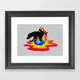 Sign Framed Art Print