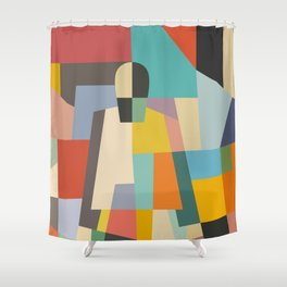 MISTERY WOMAN Shower Curtain
