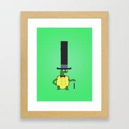 Turtle3 Framed Art Print