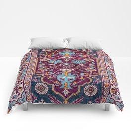 Romanian  Antique  Double Niche Carpet Comforters