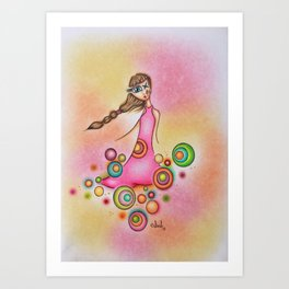 Imperfect But Nonetheless Beautiful Art Print