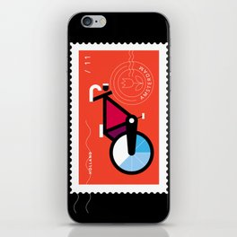 Postcards from Amsterdam / Bicycle iPhone Skin