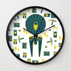 Enterprise&Phaser&PADD Wall Clock