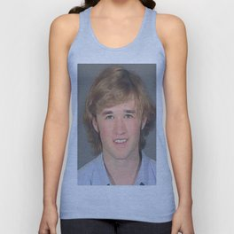Haley Joel Osment Mug Shot Unisex Tank Top
