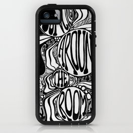 Bouncing Around the Room iPhone Case