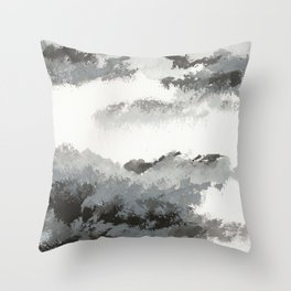 clouds_december Throw Pillow