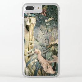 The Loving Pelican Clear iPhone Case