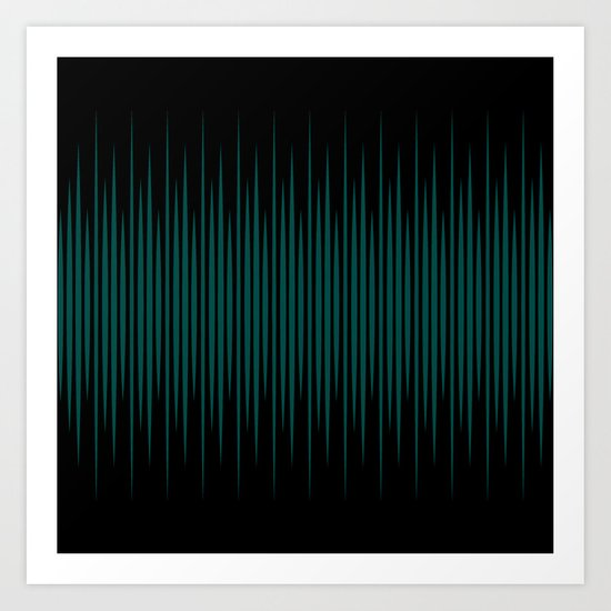 Linear Emerald Black by caitlinworkman