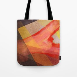 Orange flow Tote Bag