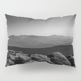Black and White Moosilauke  Pillow Sham