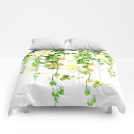 Watercolor Ivy Comforters