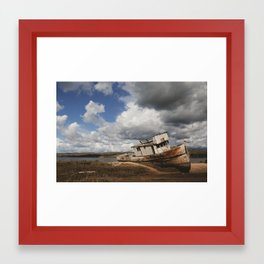 Point Reyes Shipwreck Framed Art Print
