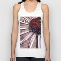 chic Tank Tops featuring coneflower chic by inourgardentoo