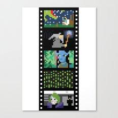 Blockbusters II Canvas Print