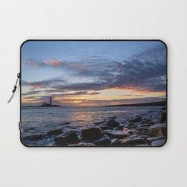 Sunrise at St Mary's Lighthouse Laptop Sleeve