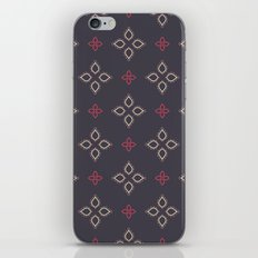 Abstract floral shapes iPhone & iPod Skin