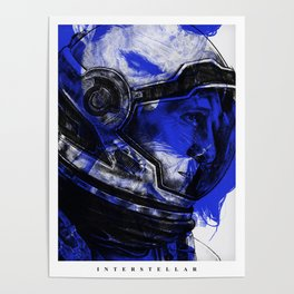Interstellar - Movie Inspired Art Poster